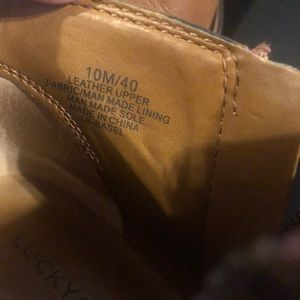 Lucky Brand Shoes - Lucky booties Size 10
